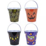 Halloween Tin Treat Buckets