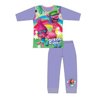 Girls Official Trolls Pyjamas