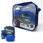Official Iron Spiderman Lunch Bag Set 3 Piece