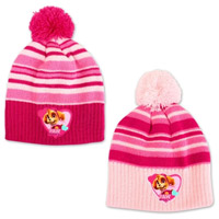 Official Paw Patrol Girls Pom Pom Hat