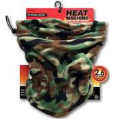 Mens Reversible Heat Machine Camo Snood
