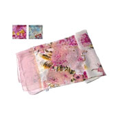 Large Flower Print Fashion Scarves