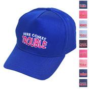Childrens Baseball Hats with Slogan