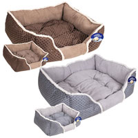 Sweet Dreams Faux Suede Pet Bed Small