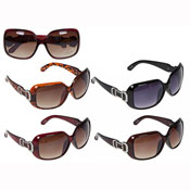 Ladies Deluxe Optical Hinge Fashion Sunglasses