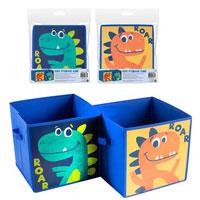 D-Clutter Kids Storage Cube Boys