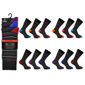 Mens Stripe Socks Kry Collection