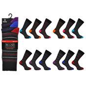 Mens Stripe Socks Kry Collection