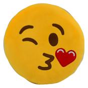 Fun Plush Cushion Kiss