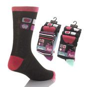 Girls Apple Design Socks