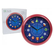 Christmas Musical Wall Clock