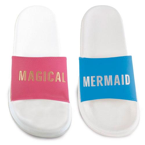 Ladies Mermaid And Magical Pool Slides