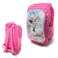 Official Minnie Unicorn Deluxe Trolley Backpack