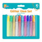 Glitter Glue Pens 10 Pack