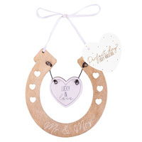 Lucky Horseshoe Wedding Keepsake