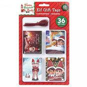 Christmas Elf Folded Gift Tags