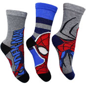 Boys Marvel Spiderman Character Socks