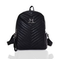 Star Shimmer Backpack Black