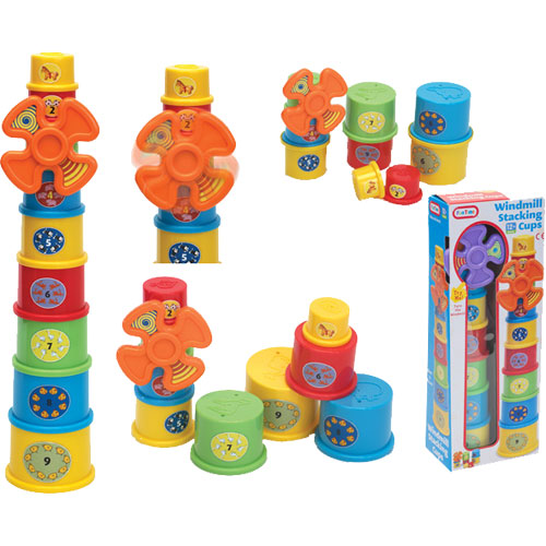 Windmill Stack Up Cups