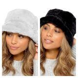 Ladies Fur Bucket Hat