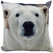 Polar Bears Cushion Cover