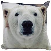 Polar Bears Cushion Cover