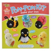 Make Your Own Pom Pom Animal Kit
