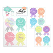 Baby Shower Guest Stickers 12 Pack