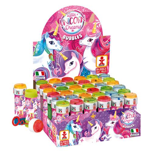 Little Unicorn Dreams Novelty Soap Bubbles