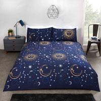 Celestial Duvet Set Blue