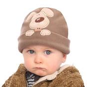 Baby Fleece Hats with Embroidery