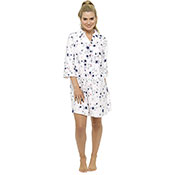 Ladies Printed Nightshirt Star