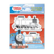 Thomas & Friends 3D Colour & Build Set