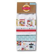 Cooksmart Sweet Treats 3 Pack Tea Towels