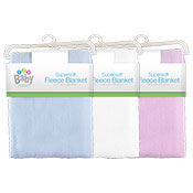 Baby Fleece Blankets Assorted
