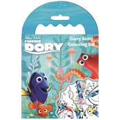 Finding Dory Carry Along Colouring Set