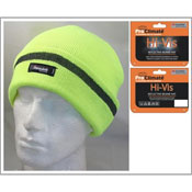 Hi Vis Thinsulate Beanie Hat with Scotchlite Band