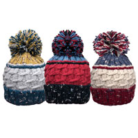 Unisex Bobble Hat With Cosy Lining