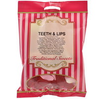 Teeth And Lips Traditional Sweets 150g Bag