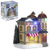 Miniature Resin Light Up Festive Shop