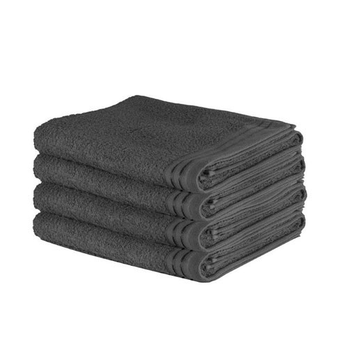 Luxury Wilsford Cotton Bath Sheet Charcoal