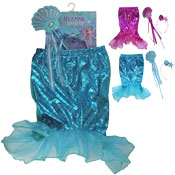 Mermaid Dress Up With Accessories Set