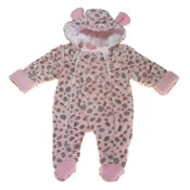 Baby Girl Pink Snowsuit