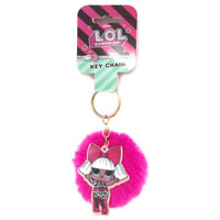 Official LOL Surprise Pom Pom Key Chain