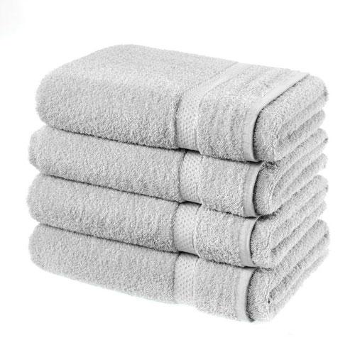 Luxury Cotton Bath Sheet Silver