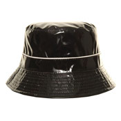 Patent Look Rain Hat