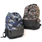 Camo Design Backpack