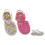 Childrens Jelly Sandals