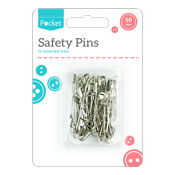 Safety Pins 50 Pack