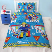 Official Fireman Sam Duvet Set Cool